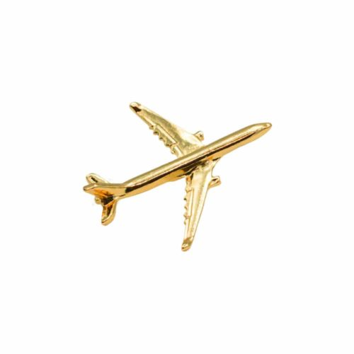 AIRBUS A330 PIN GOLD