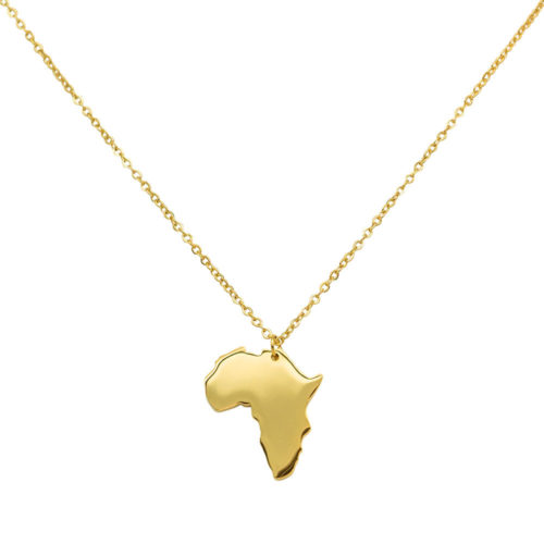 #AFRICA NECKLACE GOLD