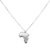 #AFRICA NECKLACE SILVER