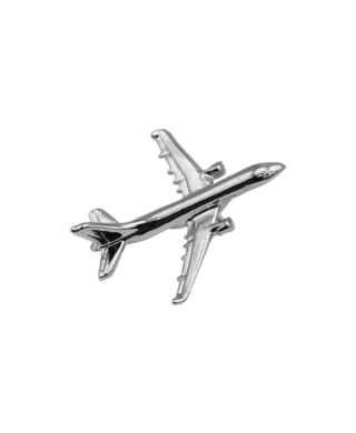 AIRBUS A321 PIN SILVER