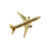 Boeing 777 Pin Gold