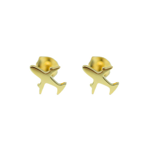 #FERNWEH EARRINGS GOLD