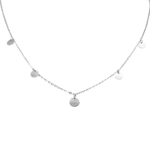 #BUCKETLIST NECKLACE SILVER