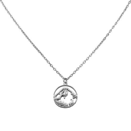 #GROSSGLOCKNER NECKLACE SILVER