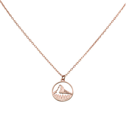 #MATTERHORN NECKLACE ROSE GOLD